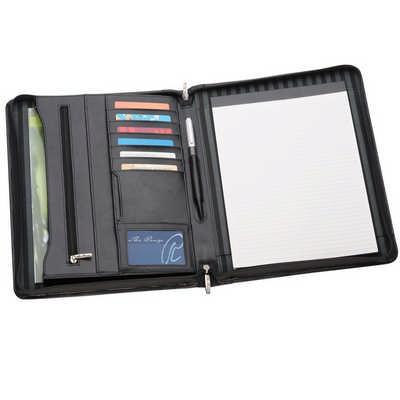 A4 Leather Compendium 884BK_RNG_DEC