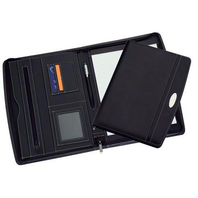A4 Zippered Compendium 9105BK_RNG_DEC