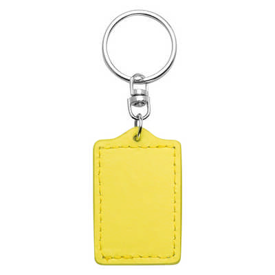 Bonded Leather Keyring - (printed with 1 colour(s)) 9172_RNG_DEC