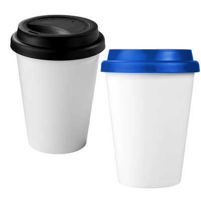 Carry Cup - 350ml Antibacterial Insulated Tumbler (CC1004_RNG_DEC)