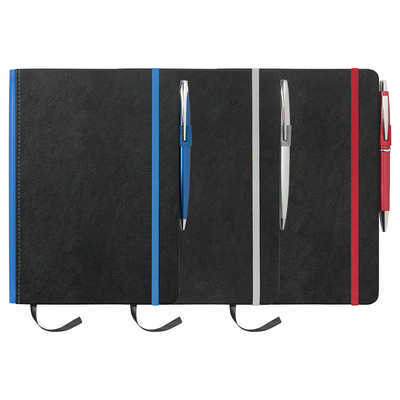 A5 Barranco JournalBook with Coloured Spine - (printed with 1 colour(s)) JB1007_RNG_DEC
