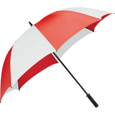 Tour Golf Umbrella - (printed with 4 colour(s)) SB1001RDWH_RNG_DEC