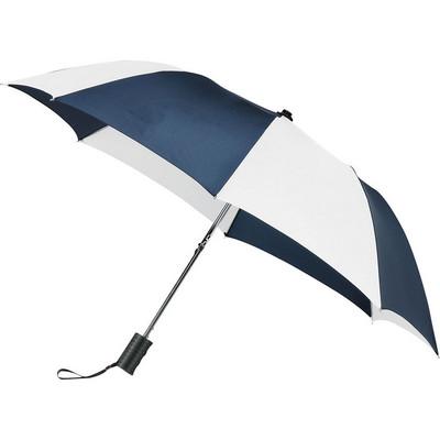 Stromberg Fold Auto Umbrella - (printed with 4 colour(s)) SB1003NYWH_RNG_DEC