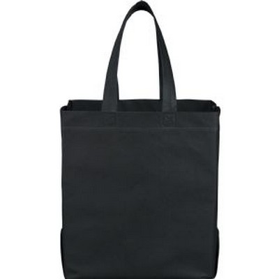 Liberty Heat Seal Non-Woven Grocery Tote (SM-7411_RNG_DEC)