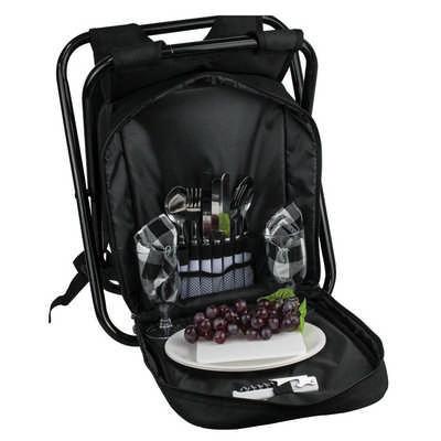Trekk Cooler Seat Picnic Set (TK1032_RNG_DEC)