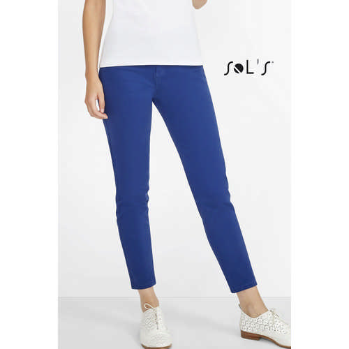 JULES WOMENS 78 CHINO TROUSERS (S01425_ORSO_DEC)