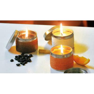 Aromatic Candle Shiva (M9718_ORSO_DEC)