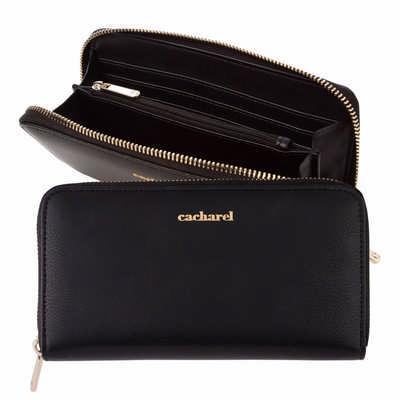 Cacharel Lady wallet Timeless Black (CEL035A_ORSO_DEC)