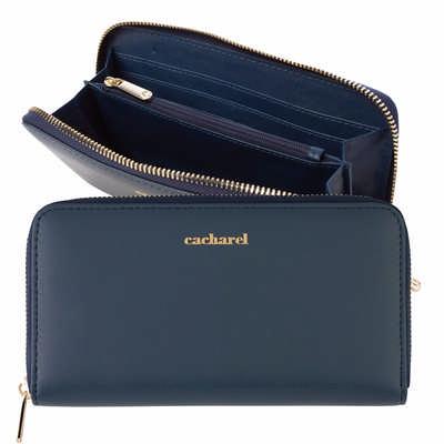 Cacharel Lady wallet Timeless Blue (CEL035N_ORSO_DEC)