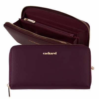 Cacharel Lady wallet Timeless Burgundy (CEL035R_ORSO_DEC)