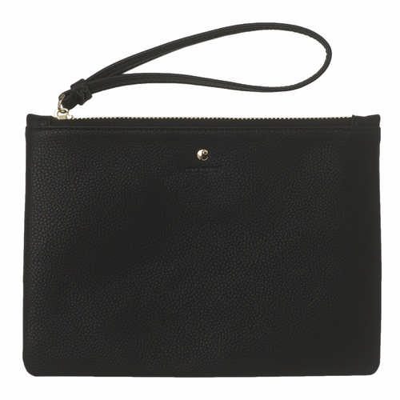 Cacharel Clutch bag Beaubourg Black (CEO735A_ORSO_DEC)