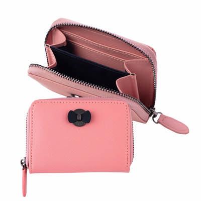 Cacharel Mini wallet Hortense Pink (CEW034Q_ORSO_DEC)