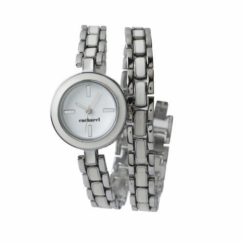 Cacharel Watch Pompadour Blanc (CMM323_ORSO_DEC)