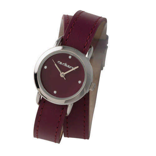 Cacharel Watch Blossom Bordeaux (CMN578_ORSO_DEC)