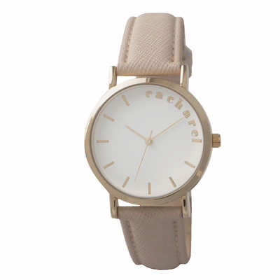 Cacharel Watch Bagatelle Beige (CMN636X_ORSO_DEC)