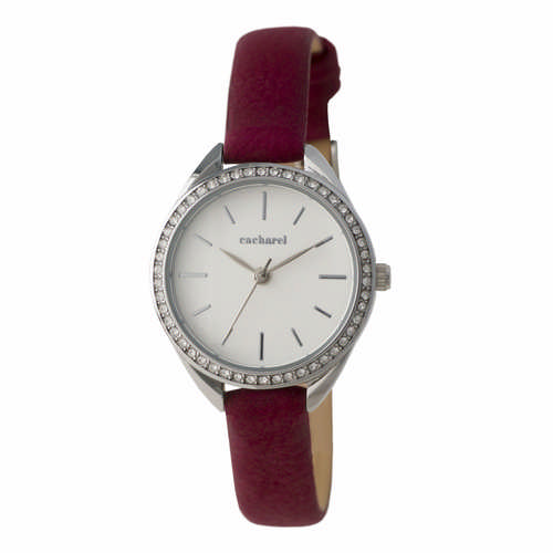 Cacharel Watch Iris Burgundy (CMN835R_ORSO_DEC)