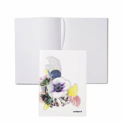 Cacharel Note pad A5 Madeleine White (CNH937F_ORSO_DEC)