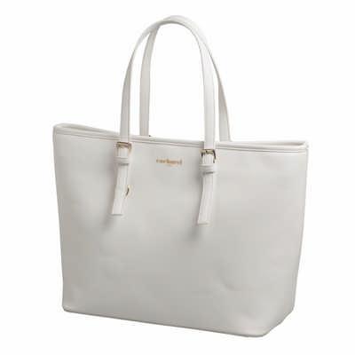 Cacharel Shopping bag Bagatelle Blanc (CTS636F_ORSO_DEC)