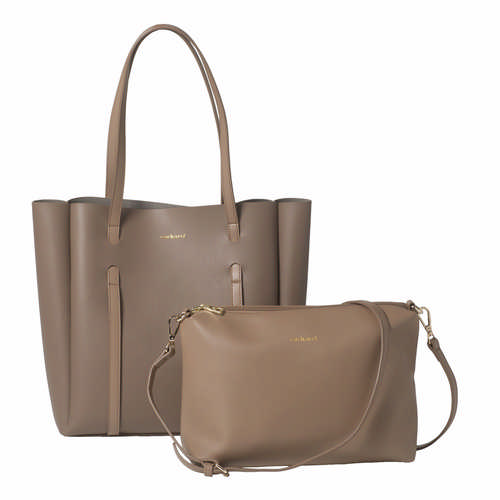 Cacharel Shopping bag Montmartre Taupe (CTS936X_ORSO_DEC)