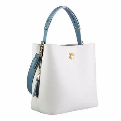 Cacharel Bucket bag Garance Light Grey (CTX036K_ORSO_DEC)