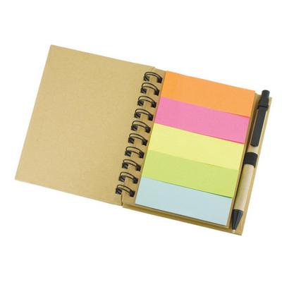 ECO sticky note set  - (printed with 1 colour(s)) G1062_ORSO_DEC