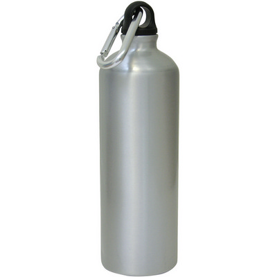 Aluminium drink bottle  - (printed with 1 colour(s)) G553_ORSO_DEC