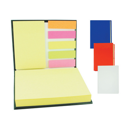 Multi marker note pad  - (printed with 1 colour(s)) G713_ORSO_DEC