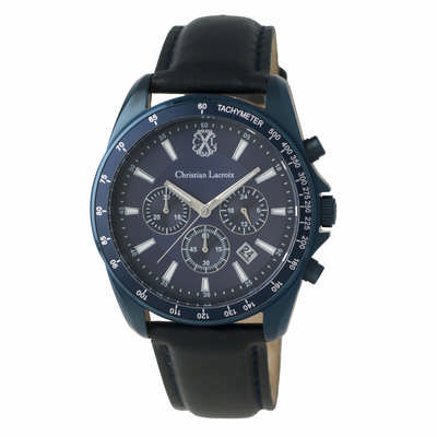 Christian Lacroix Chronograph Element Navy (LMK825N_ORSO_DEC)