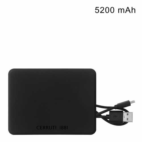 Cerruti 1881 Power bank Wooster - (printed with 1 colour(s)) NAB861_ORSO_DEC