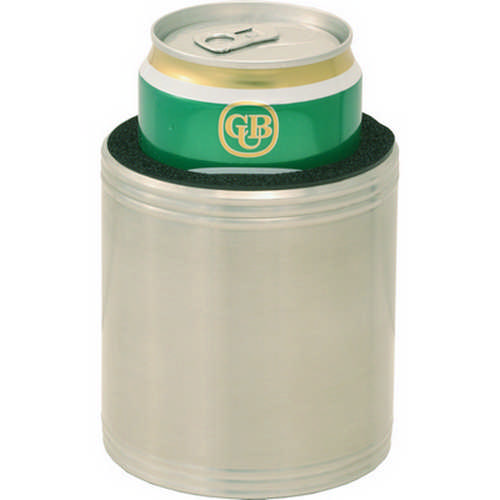 Stainless steel insulated beer holder - (printed with 1 colour(s)) G45_ORSO_DEC