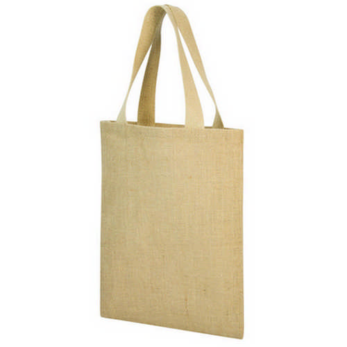 A4 jute shopper bag - (printed with 1 colour(s)) G1042_ORSO_DEC