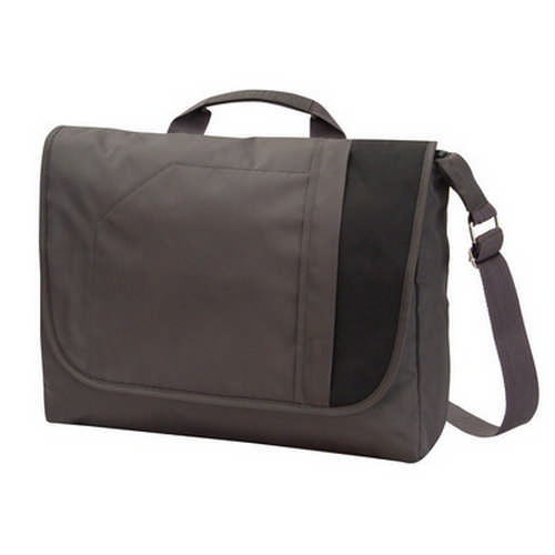 Excel flap over laptop bag - (printed with 1 colour(s)) G1127_ORSO_DEC