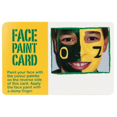 Face paint card (G1150_ORSO_DEC)