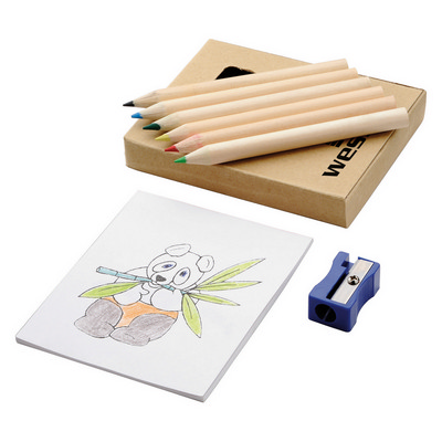 Boxed colouring set (G1257_ORSO_DEC)