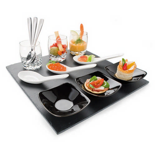Amouse bouche set - (printed with 1 colour(s)) G1261_ORSO_DEC