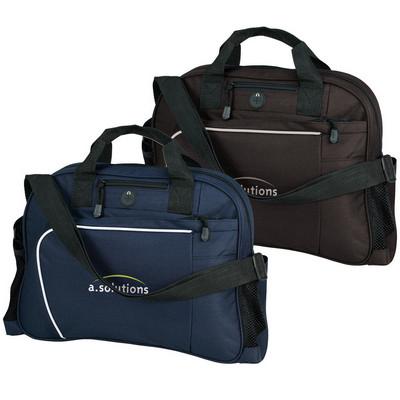 Curved zipped brief bag (G1263_ORSO_DEC)