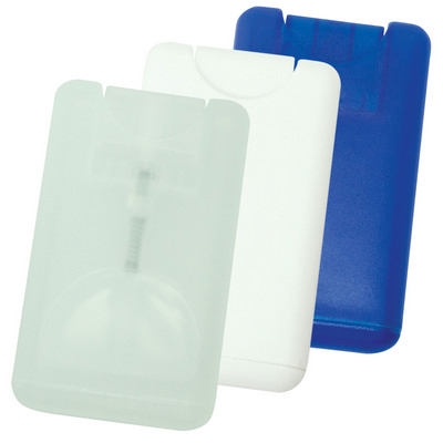 Card hand sanitiser - (printed with 1 colour(s)) G1403_ORSO_DEC