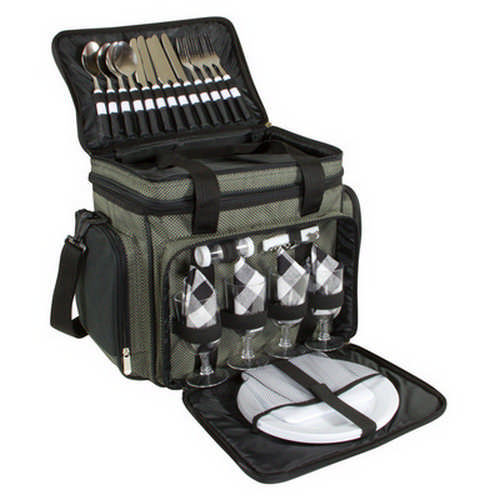 4 person picnic bag with cooler (G1417_ORSO_DEC)