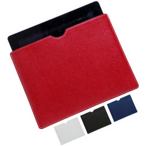 Cotton leather iPad slip case - (printed with 1 colour(s)) G1486_ORSO_DEC