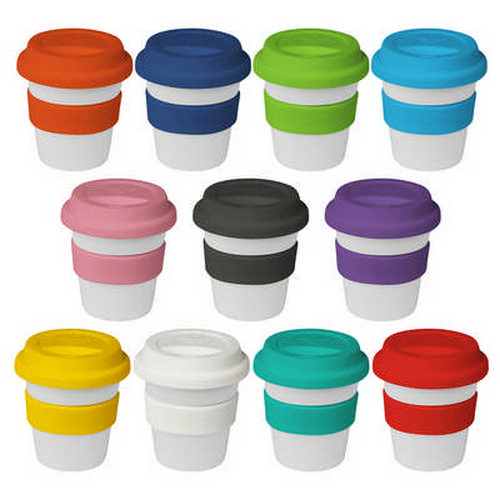 4oz120ml Plastic Karma Kup Piccolo Silicon Lid - (printed with 1 colour(s)) G1599_ORSO_DEC