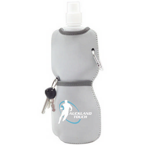 Foldable bottle with neoprene sleeve - (printed with 1 colour(s)) G1617_ORSO_DEC