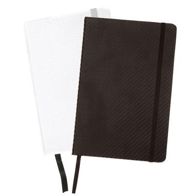 Carbon Fibre Notebook A4 - (printed with 1 colour(s)) G1637_ORSO_DEC