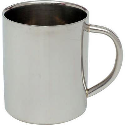 Stainless steel coffee mug (G377_ORSO_DEC)
