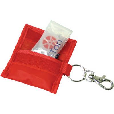 CPR mask keyring (G442_ORSO_DEC)
