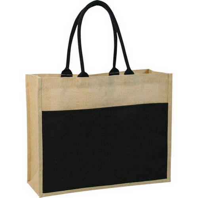 Contrast ECO jute bag - (printed with 1 colour(s)) G832_ORSO_DEC
