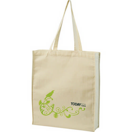 Calico bag - (printed with 1 colour(s)) G834_ORSO_DEC