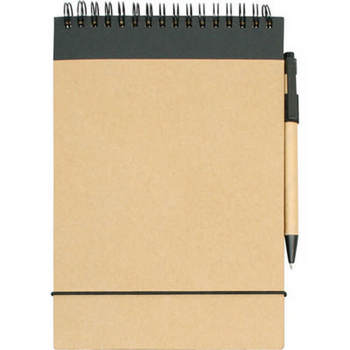 A5 ECO notepad - (printed with 1 colour(s)) G957_ORSO_DEC