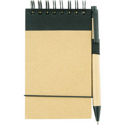 A6 ECO notepad - (printed with 1 colour(s)) G958_ORSO_DEC