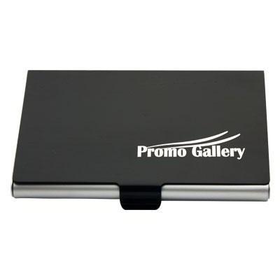 Aluminium Card Holder Black - (printed with 1 colour(s)) BH01_PENA