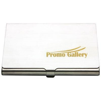 Stainless Steel Card Holder - (printed with 1 colour(s)) BH02_PENA